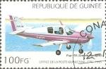 Sellos de Africa - Guinea -  AVIONETA  PUP-150  UK