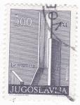 Sellos de Europa - Yugoslavia -  Arquitectura