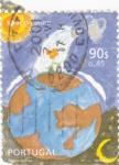Sellos de Europa - Portugal -  Ilustración -Reguemos la Tierra