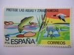 Sellos de Europa - España -  Ed. 2470 - Proteje las Aguas y Zonas Humedas.
