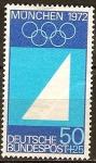 Sellos de Europa - Alemania -   Juegos Olímpicos de Munich en 1972.