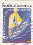 Sellos de America - Rep Dominicana -  XI Regata. Almirante Cristobal Colón