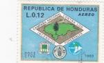 Sellos de America - Honduras -  campaña nacional contra los incendios forestales