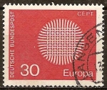 Stamps Germany -  Europa-CEPT.