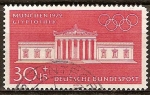 Sellos de Europa - Alemania -  Juegos Olímpicos de Munich en ( Gliptoteca)