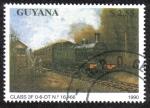 Sellos del Mundo : America : Guyana : Class 3F 0-6-OT No.16.466