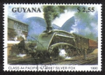 Sellos del Mundo : America : Guyana : Class A4 Pacific No. 60017 Silver Fox