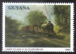 Sellos del Mundo : America : Guyana : Liner Class A 34 Glen Nevis