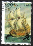 Sellos del Mundo : America : Guyana : Galleon 1588