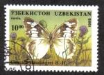 Stamps Uzbekistan -  Chasara staudingeri B.- H.