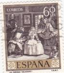Stamps Spain -  LAS MENINAS (Velázquez)( 13)
