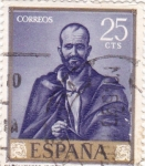 Stamps of the world : Spain :  ARQUÍMEDES (Ribera) (13)
