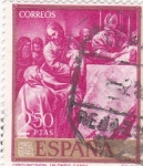 Stamps Spain -  CIRCUNCISIÓN (Alonso Cano) (13)