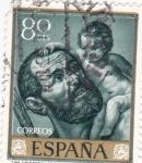 Stamps Spain -  SAN CRISTOBAL (Ribera)(13)