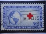 Sellos de America - Estados Unidos -  Honoring the International Red Cross- En Honor a la Cruz Roja Internacional-Financiado 1864.