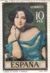 Stamps Spain -  CONDESA DE VILCHES (13)