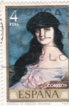 Sellos de Europa - España -  CONDESA DE NOAILLES(zuloaga) (13)