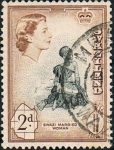 Stamps Africa - Swaziland -  Swazi married woman