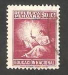 Sellos del Mundo : America : Perú : 2 - Educación Nacional