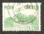 Sellos del Mundo : America : Perú : 435 - Monumento al Agricultor Indígena, en Lima