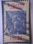 Stamps United States -  Centenario Estatua de la Libertad 1886-1986