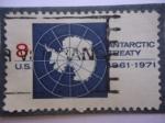 Stamps United States -  U.S - Tratado Antártico 1961-1971