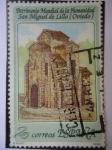 Stamps Spain -  Patrimonio Mundial de la Humanidad - San Miguel de Lillo - Obiedo.
