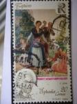 Sellos de Europa - España -  Ed. 3088 - Tapices - Florista -Siglo XVIII.