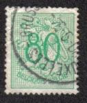 Sellos de Europa - Bélgica -  Heraldic lion