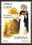 Sellos del Mundo : Europa : España : SAN TELMO: Pedro González Telmo 1190~1246.