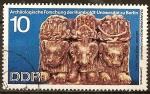 Sellos de Europa - Alemania -  Investigaciones Arqueológicas de la Universidad Humboldt de Berlín-DDR.