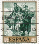 Stamps Spain -  TIPOS MANCHEGOS (Sorolla) (13)