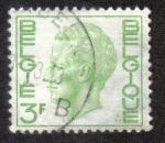 Sellos del Mundo : Europa : Bélgica :  King Baudouin Type Elström - 3 BEF