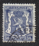 Stamps Belgium -  Small coat of arms