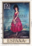 Stamps Spain -  DUQUESA DE ALBA (Zuloaga)  (13)