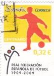 Sellos de Europa - España -  CENTENARIO REAL FEDERACIÓN DE FÚTBOL (13)
