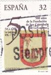 Stamps Spain -  500 AÑOS DE LA FUNDACIÓN DE SAN CRISTOBAL DE LA LAGUNA (13)