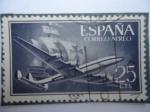 Stamps Spain -  Ed.1170 - Super Contelation nao-santa María