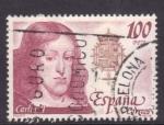 Sellos de Europa - España -  reyes de españa- casa de austria