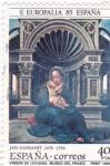 Sellos de Europa - España -  EUROPALIA -Virgen de Lovaina (13)