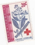 Stamps Democratic Republic of the Congo -  ARBOL-CHINCHONA LEDGERIANA