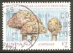 Stamps Spain -  HONGOS.  LEPIOTA  PROCERA.