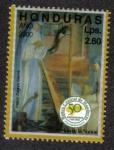 Sellos de America - Honduras -  50 Aniversario del banco Central de Honduras