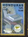 Stamps Honduras -  50 Aniversario del banco Central de Honduras