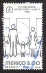 Stamps Mexico -  X Censo General de Población y Vivienda