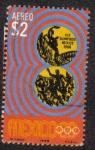 Stamps Mexico -  XIX Olimpiadas Mexico 68