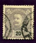 Sellos de Europa - Portugal -  Carlos I