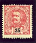 Stamps Portugal -  Carlos I