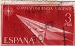 Stamps of the world : Spain :  correspondencia urgente