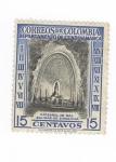 Sellos del Mundo : America : Colombia : Catedral de sal.Salinas de Zipaquira